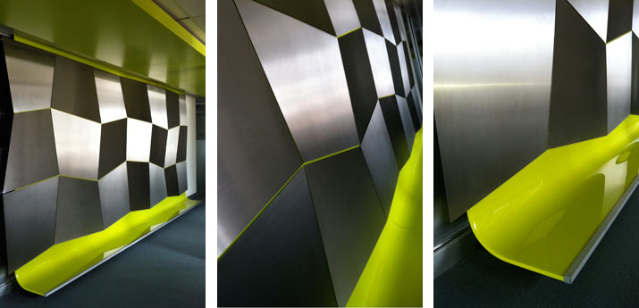 stainless-wall